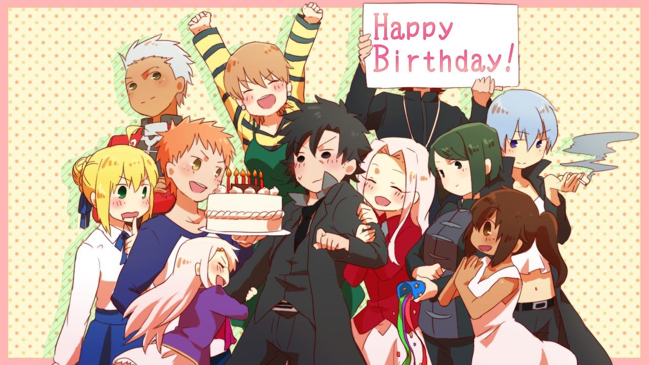 Happy Fairy Tail Cake