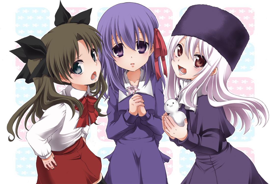 ~ Tohsaka Rin & Asuka Langley ID ~ Fate.zero.full.855451