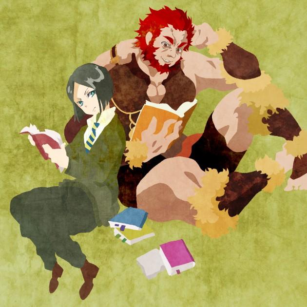 Tags: Anime, Kuroihato, Fate/zero, Rider (Fate/zero), Waver Velvet, Pixiv, PNG Conversion, Fanart