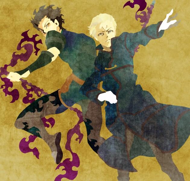 Tags: Anime, Kuroihato, Fate/zero, Kayneth Archibald El-Melloi, Pixiv, Fanart, PNG Conversion