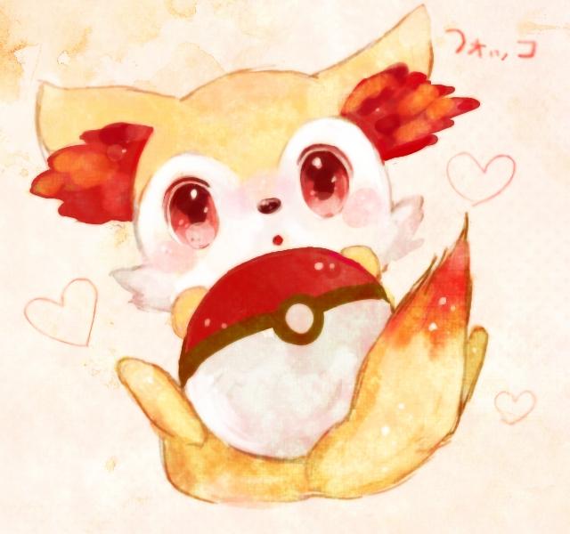 Tags: Anime, Pixiv Id 2586296, Pokémon, Fennekin