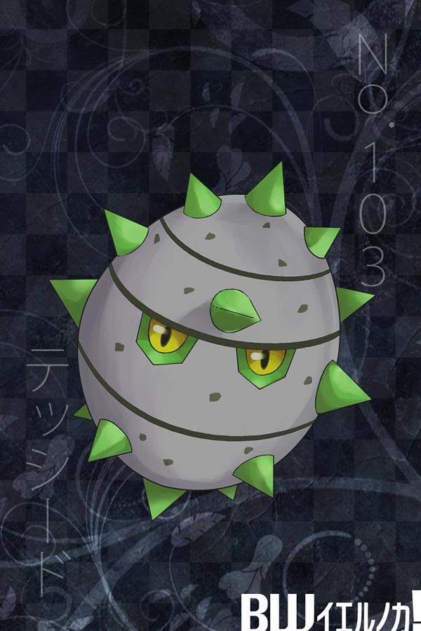 Tags: Anime, Pixiv Id 510265, Pokémon, Ferroseed, Fanart, Fanart From Pixiv, Pixiv
