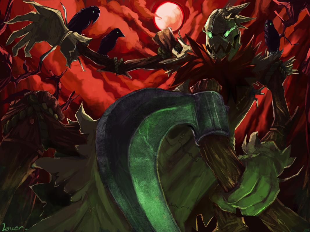 Fiddlesticks League Of Legends Zerochan Anime Image Board