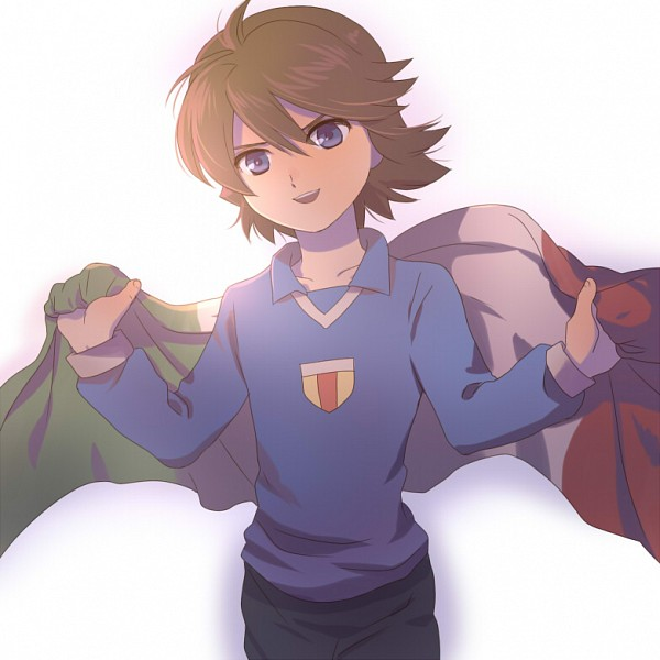 Tags: Anime, Inazuma Eleven, Fidio Aldena, Flag