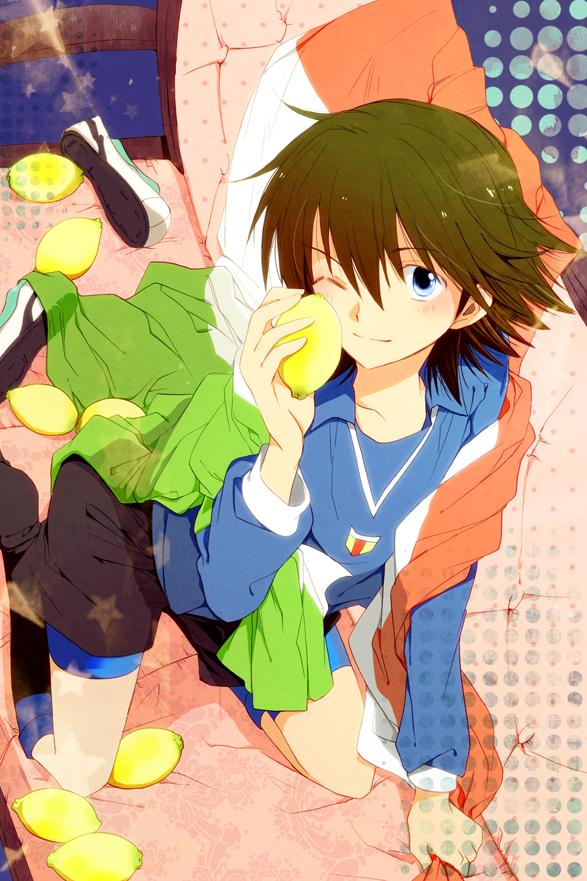 Tags: Anime, Unai, Inazuma Eleven, Fidio Aldena, Lemon