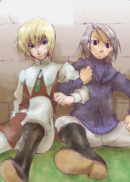 Tags: Anime, SQUARE ENIX, Final Fantasy III, Onion Knight, Luneth, Ingus