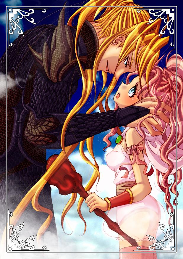 Tags: Anime, Final Fantasy IV, Kain Highwind, Porom