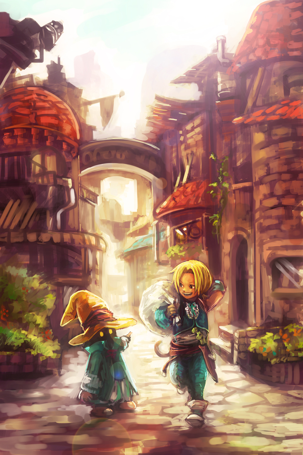 Final Fantasy Ix Mobile Wallpaper 1391398 Zerochan Anime Image