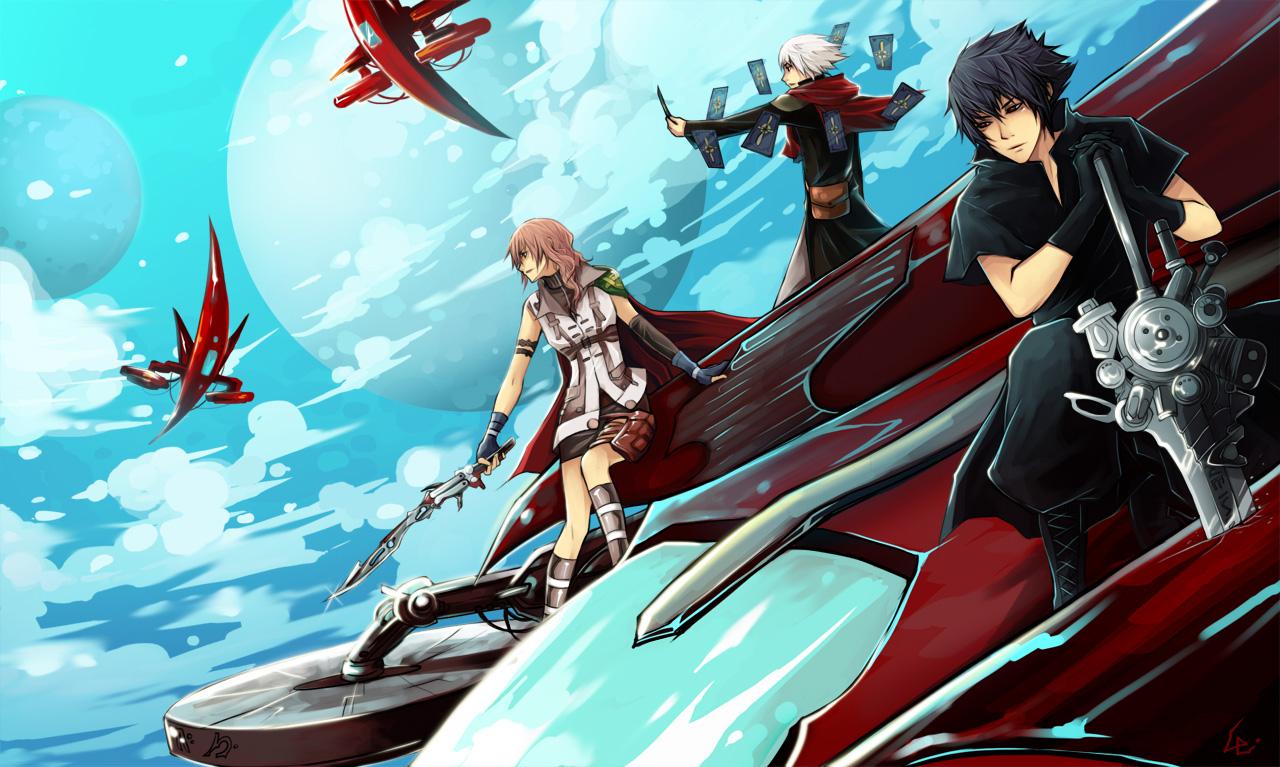 final fantasy series image #449459 - zerochan anime image board