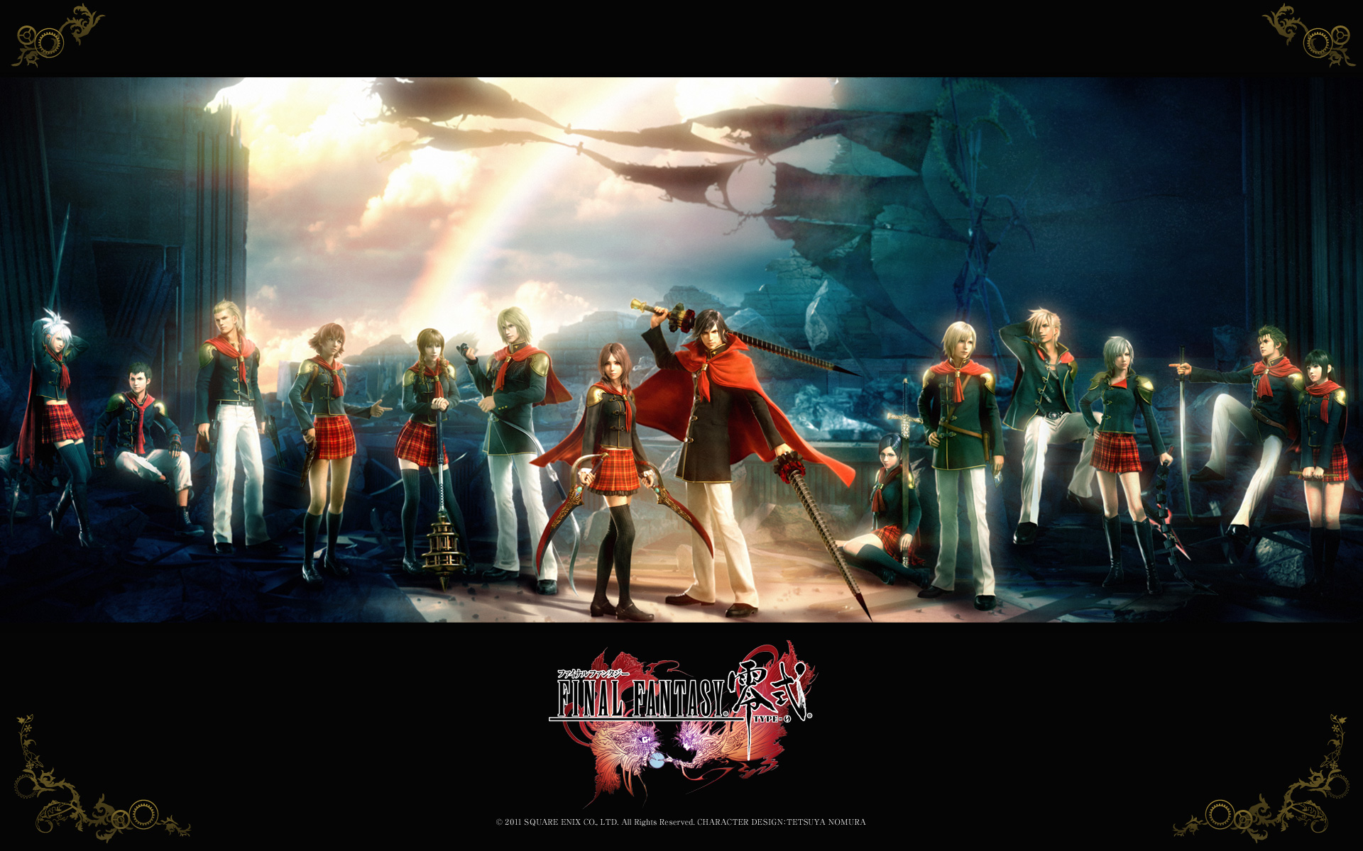 Final Fantasy Type 0 Action Rpg Adventure Fighting 1fftype0