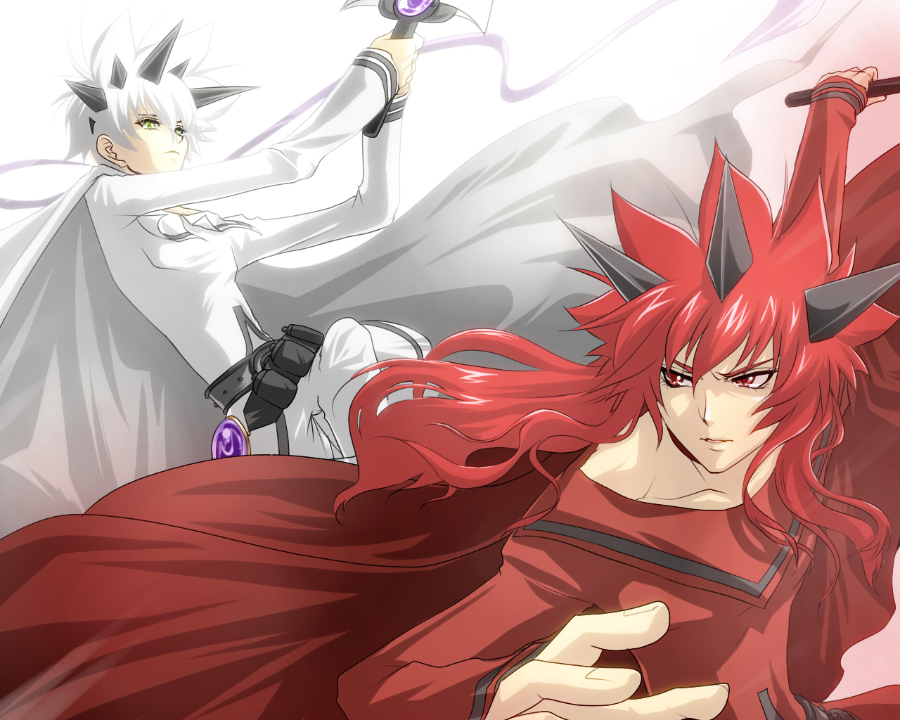 Tags: Anime, Chona, Final Fantasy Unlimited, Madoushi, Shiroi Kumo ...