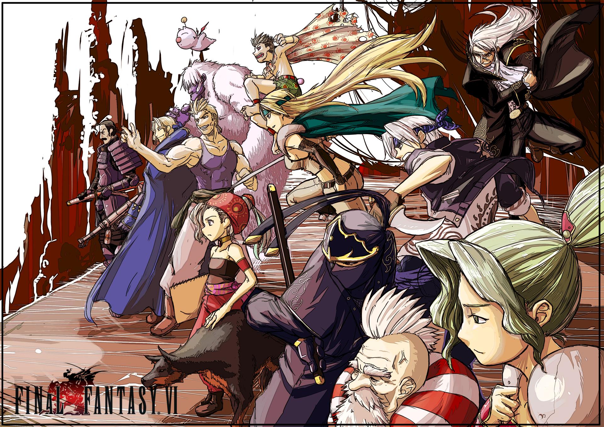 Mash Rene Figaro Final Fantasy Vi Zerochan Anime Image Board