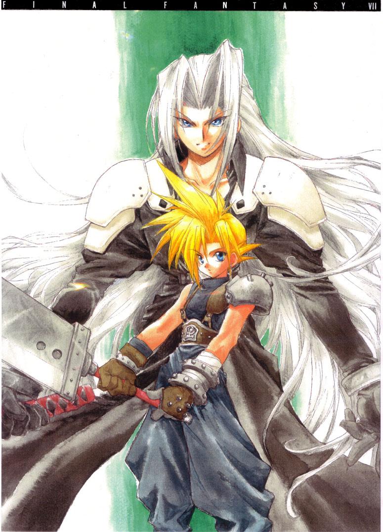 Final fantasy vii image 1107888 zerochan anime image board - Cloud strife fanart ...