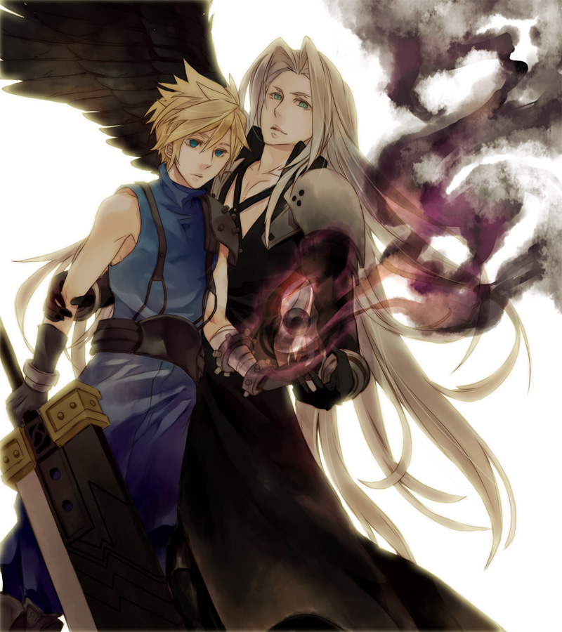 tags anime final fantasy vii cloud strife male models