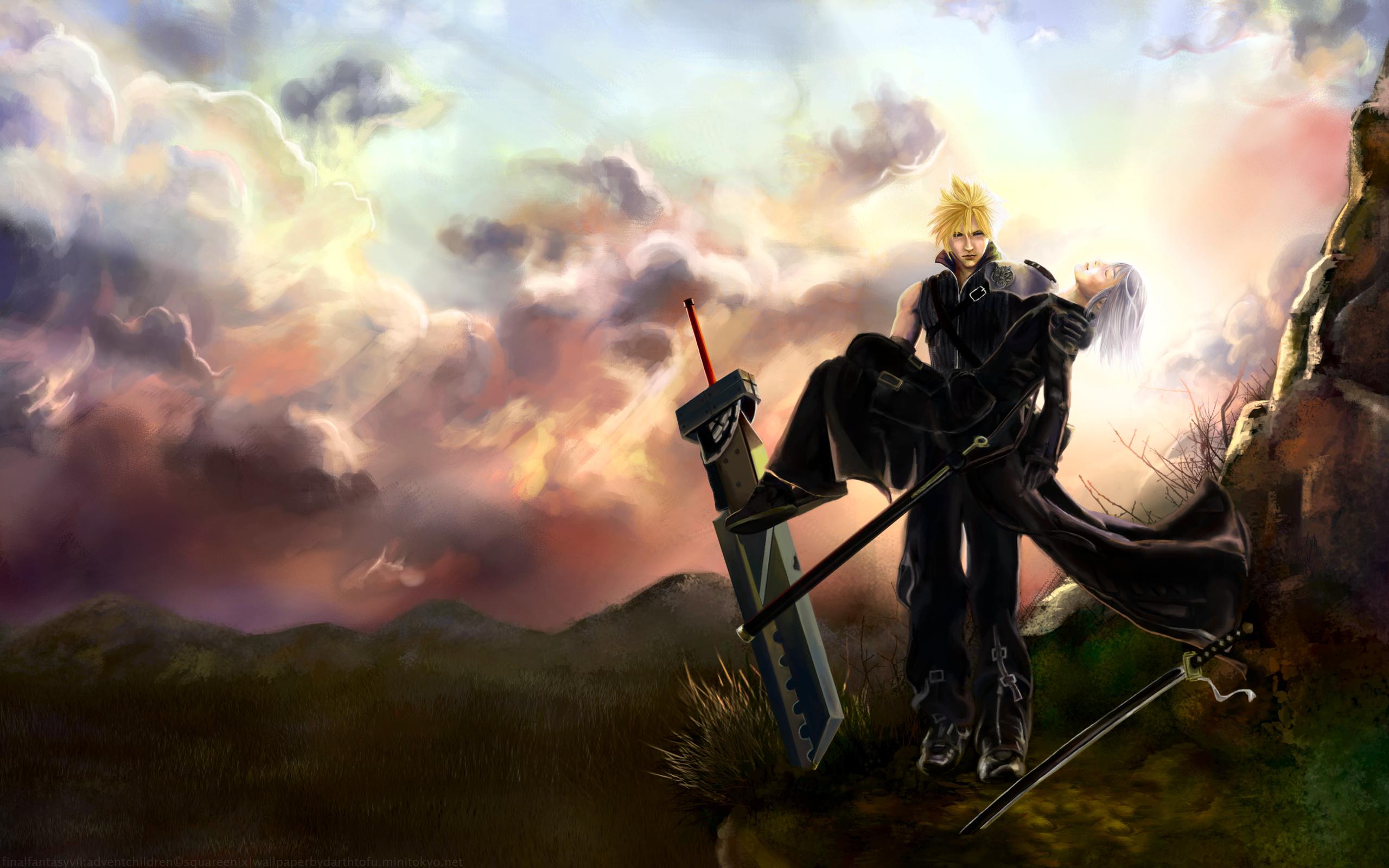 Final Fantasy Vii Hd Wallpaper 268245 Zerochan Anime Image Board