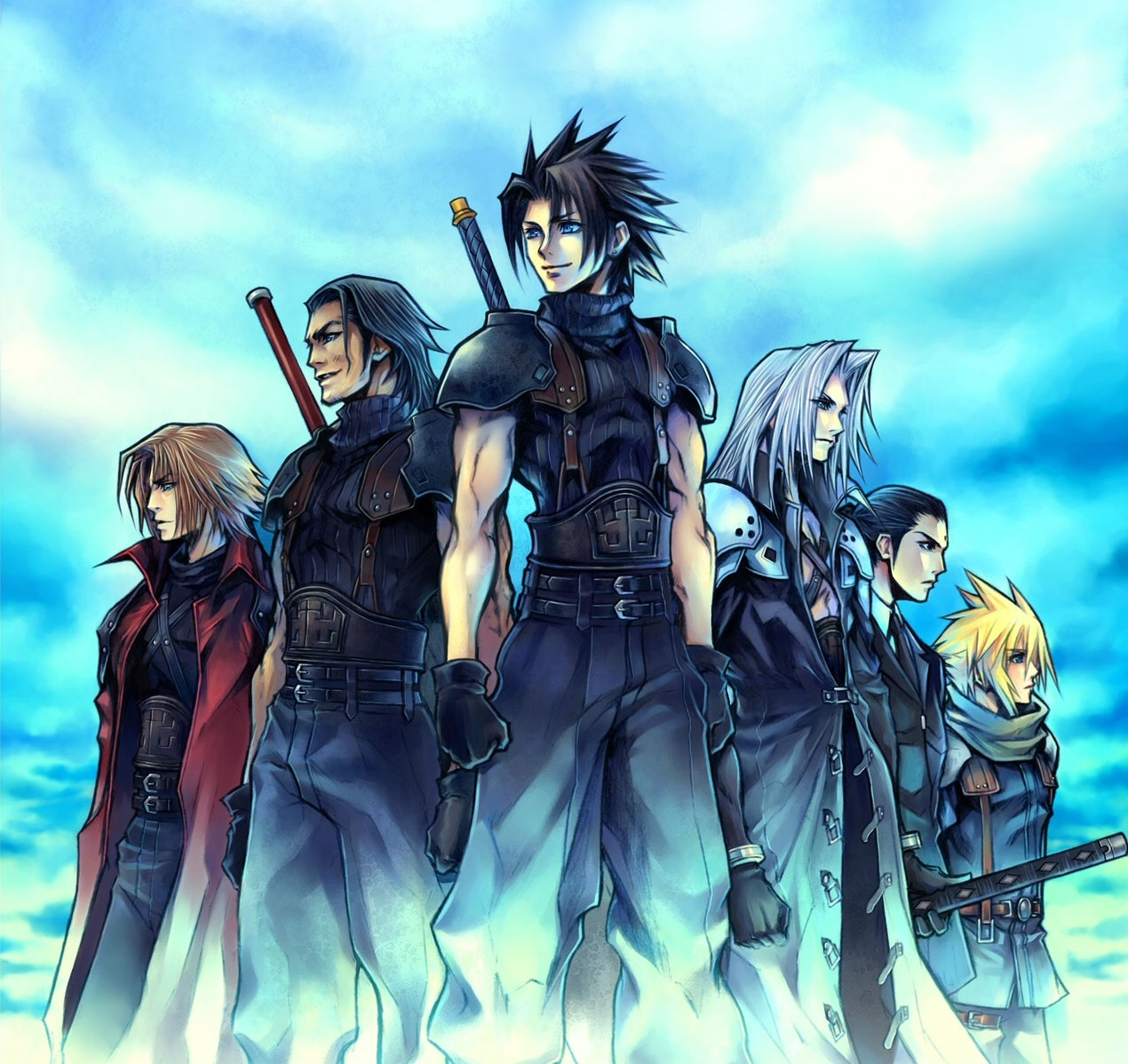 Final Fantasy 7 Anime Characters : Final fantasy vii image zerochan anime board