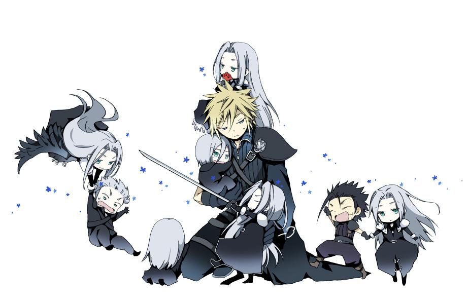 Final Fantasy Vii Image 482733 Zerochan Anime Image Board