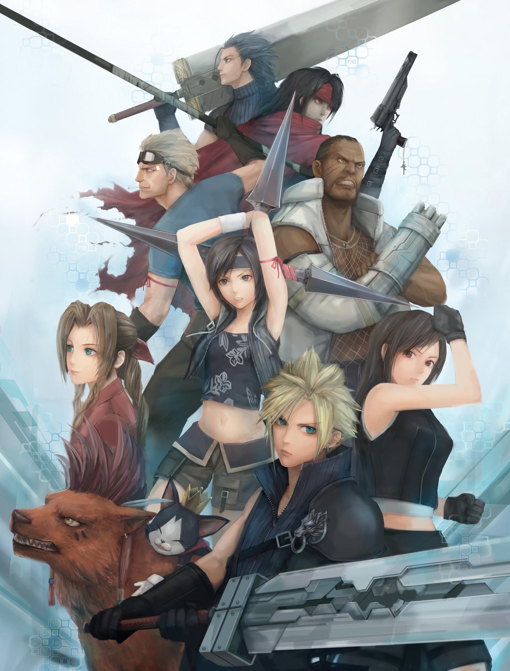 Final fantasy 7 aerith xxx