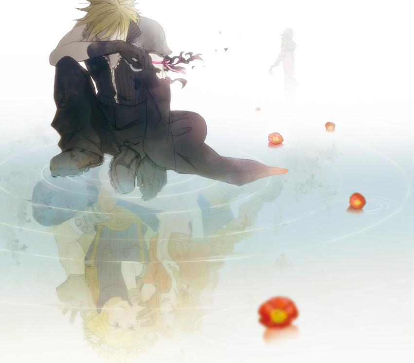 Final fantasy vii image 738063 zerochan anime image board - Cloud strife fanart ...
