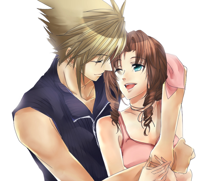 final fantasy cloud and aerith relationship advice