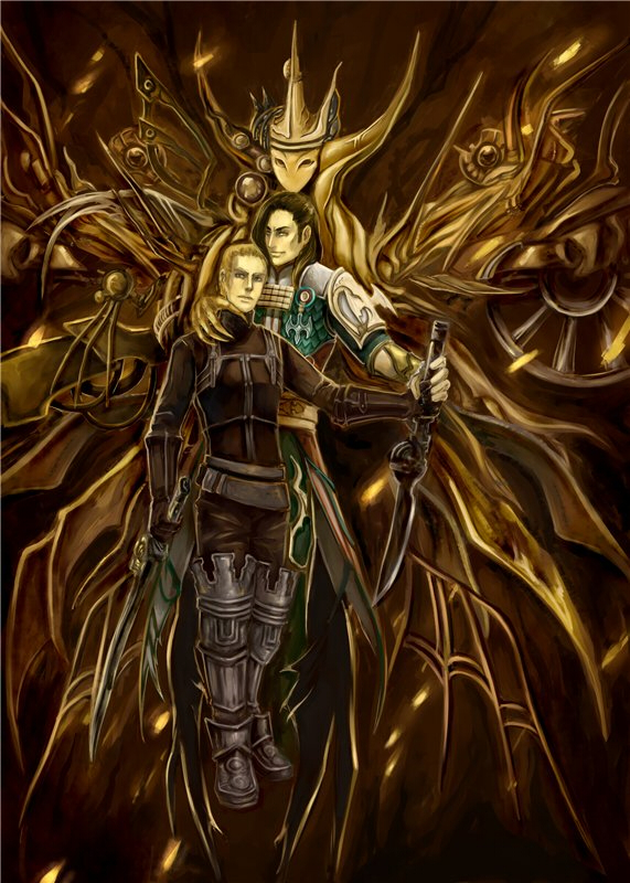 Tags: Anime, Final Fantasy XII, Vayne Carudas Solidor, Gabranth, Machine, deviantART