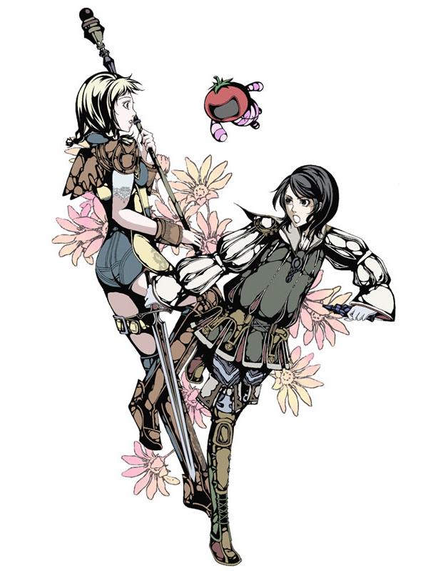 Tags: Anime, Final Fantasy XII, Penelo, Larsa, Larsa Solidor, Artist Request