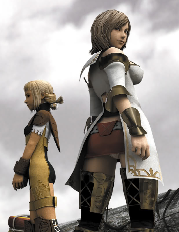 Tags: Anime, Final Fantasy XII, Ashelia B'nargin Dalmasca, Penelo, 3D