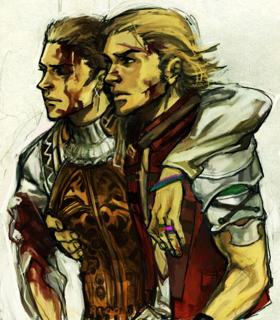 Tags: Anime, SQUARE ENIX, Final Fantasy XII, Basch Fon Ronsenburg, Balthier, Dontaskme