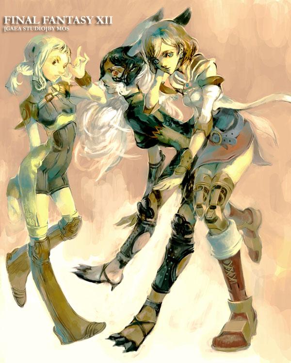 Tags: Anime, Mos, SQUARE ENIX, Final Fantasy XII, Fran (FFXII), Penelo, Viera, Ashelia B'nargin Dalmasca
