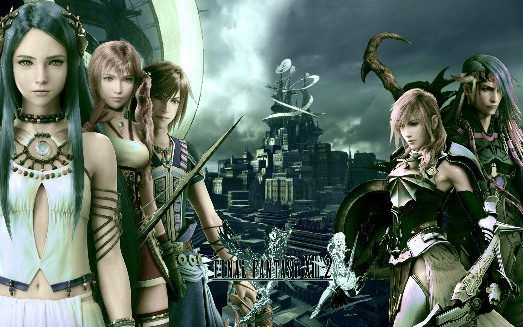 final fantasy xiii, wallpaper - zerochan anime image board