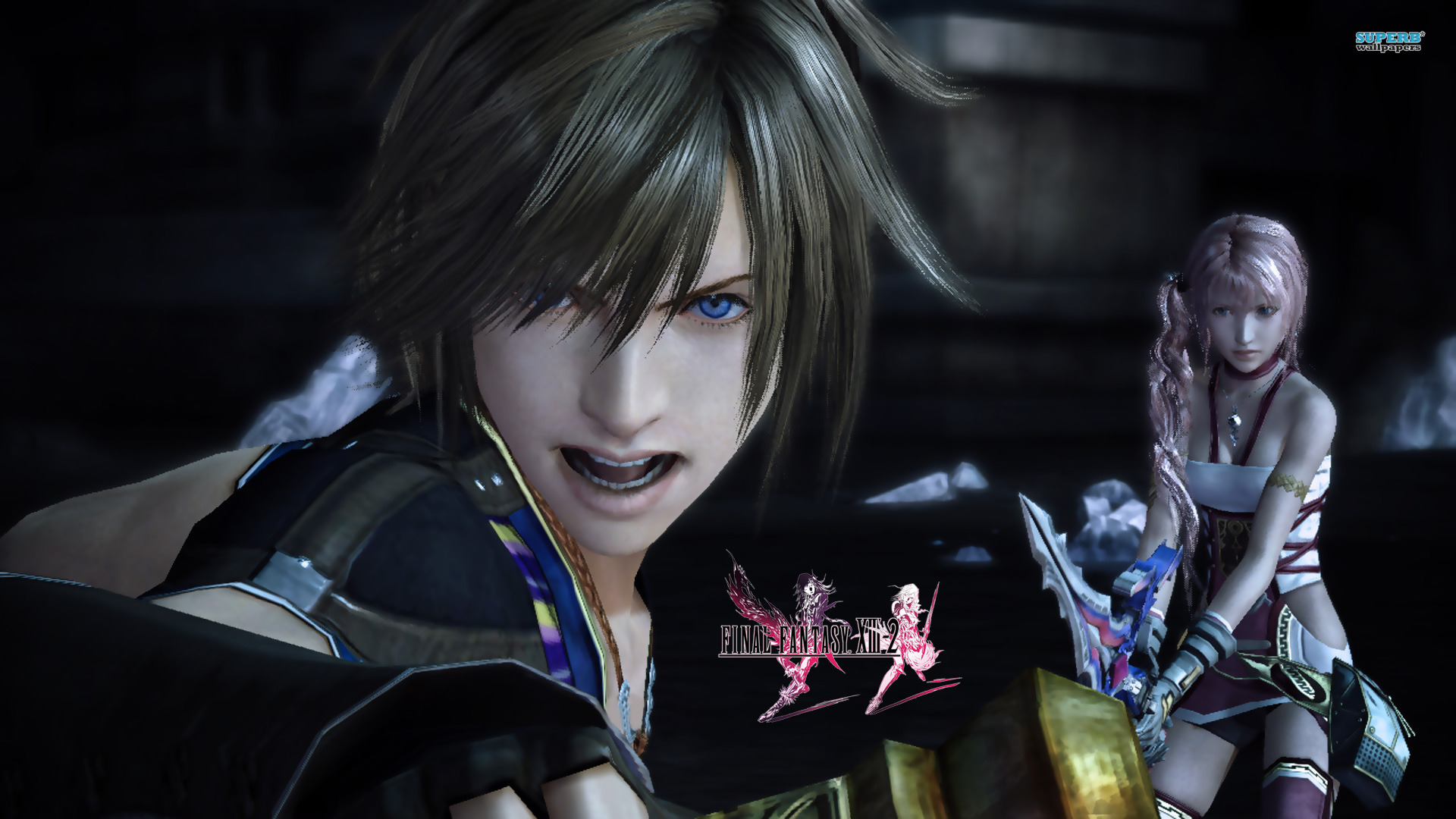 Final Fantasy Xiii Hd Wallpaper 1031539 Zerochan Anime Image Board