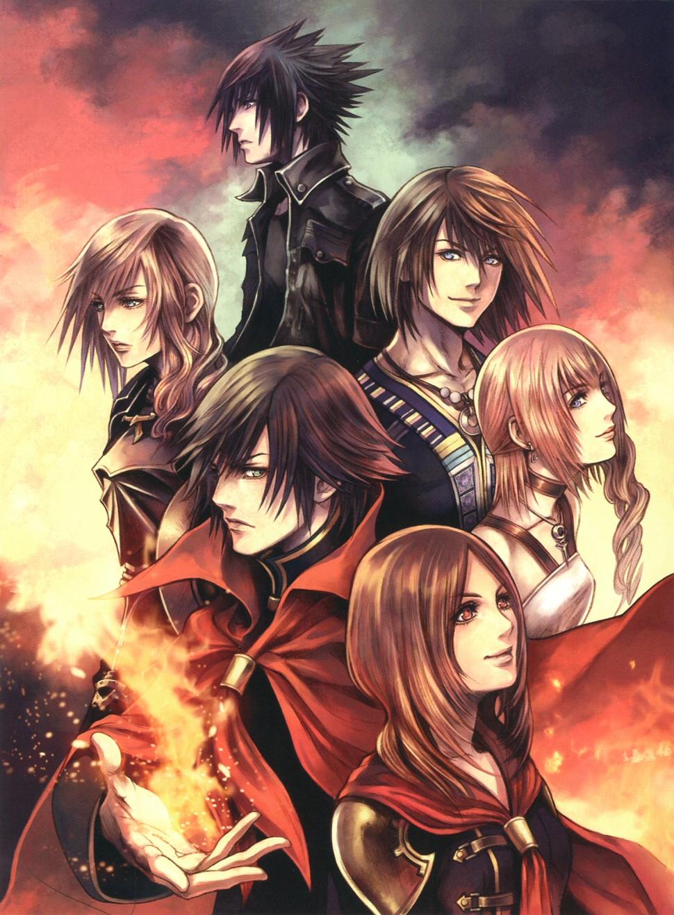 Final Fantasy Serah And Lightning Final Fantasy XIII Ima...