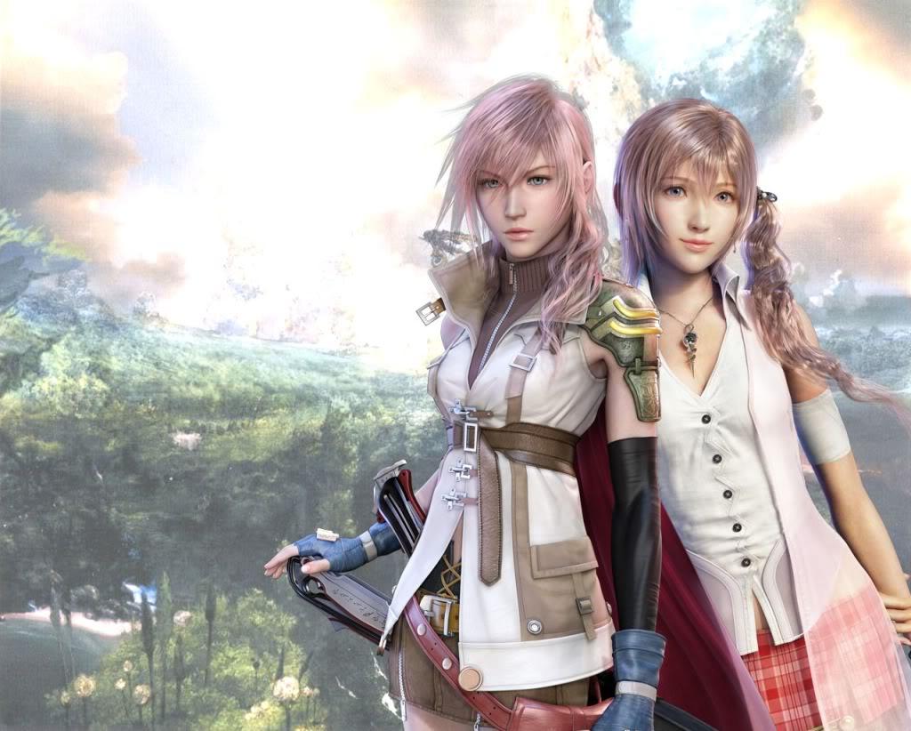 Final Fantasy Serah And Lightning View Fullsize Final Fantasy