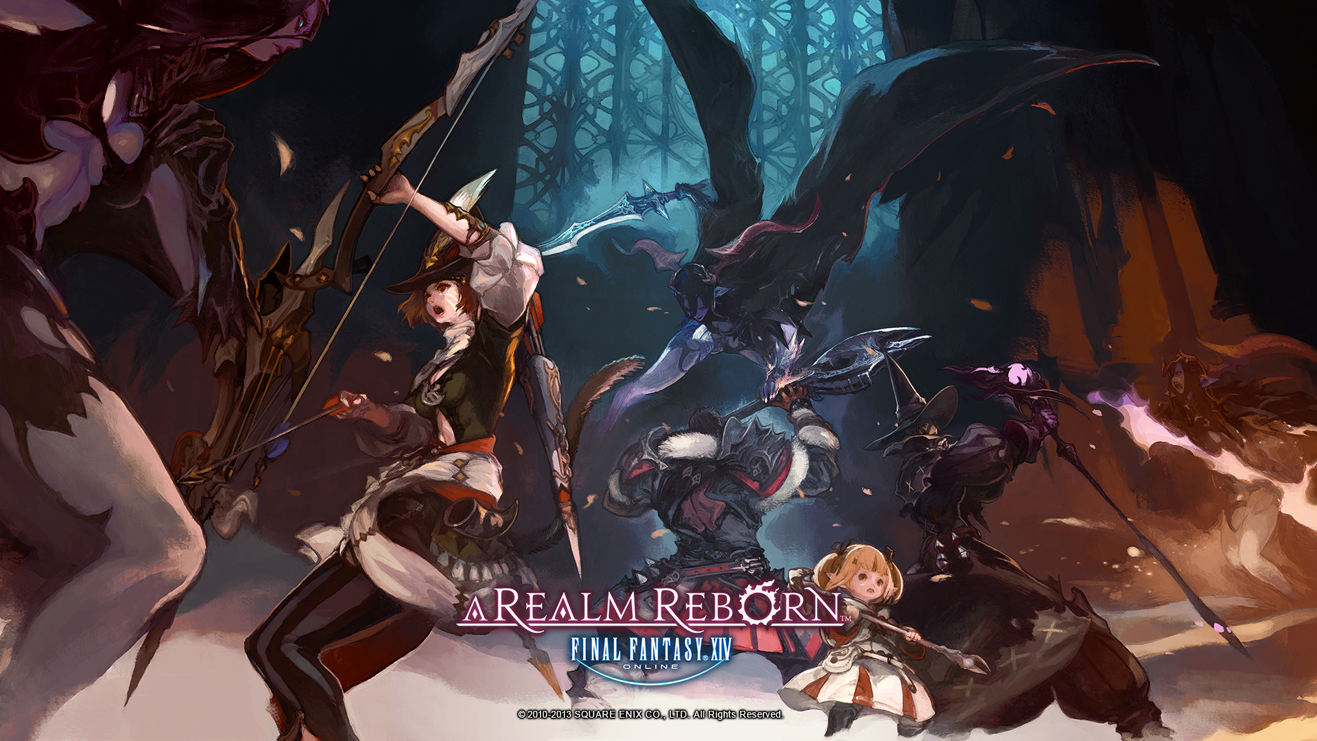 Final Fantasy Xiv Wallpaper 2526349 Zerochan Anime Image Board