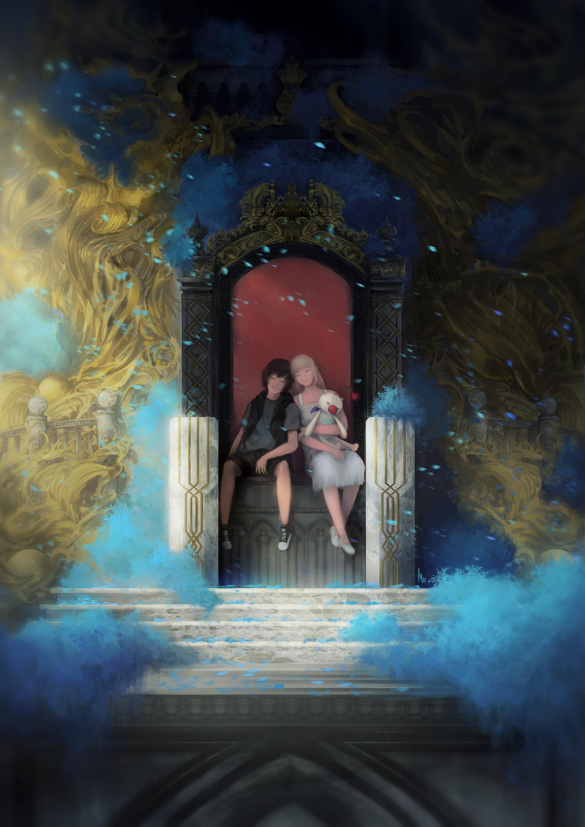 Noctis Lucis Caelum Throne Final Fantasy XV Image...