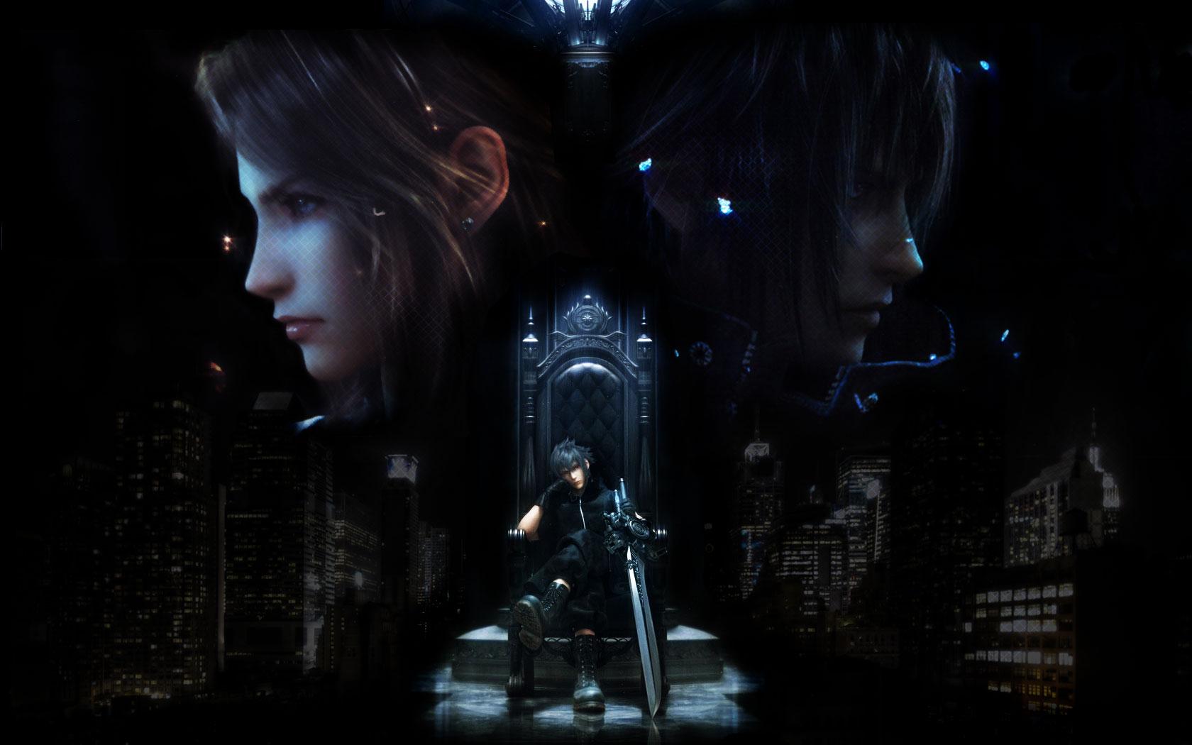 Noctis Lucis Caelum Throne /Final Fantasy XV/#241...
