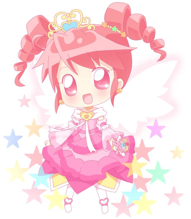 Tags: Anime, Mirai (Sugar), Fushigiboshi no☆Futagohime, Fine, Gown, Fanart From Pixiv, Fanart, Pixiv