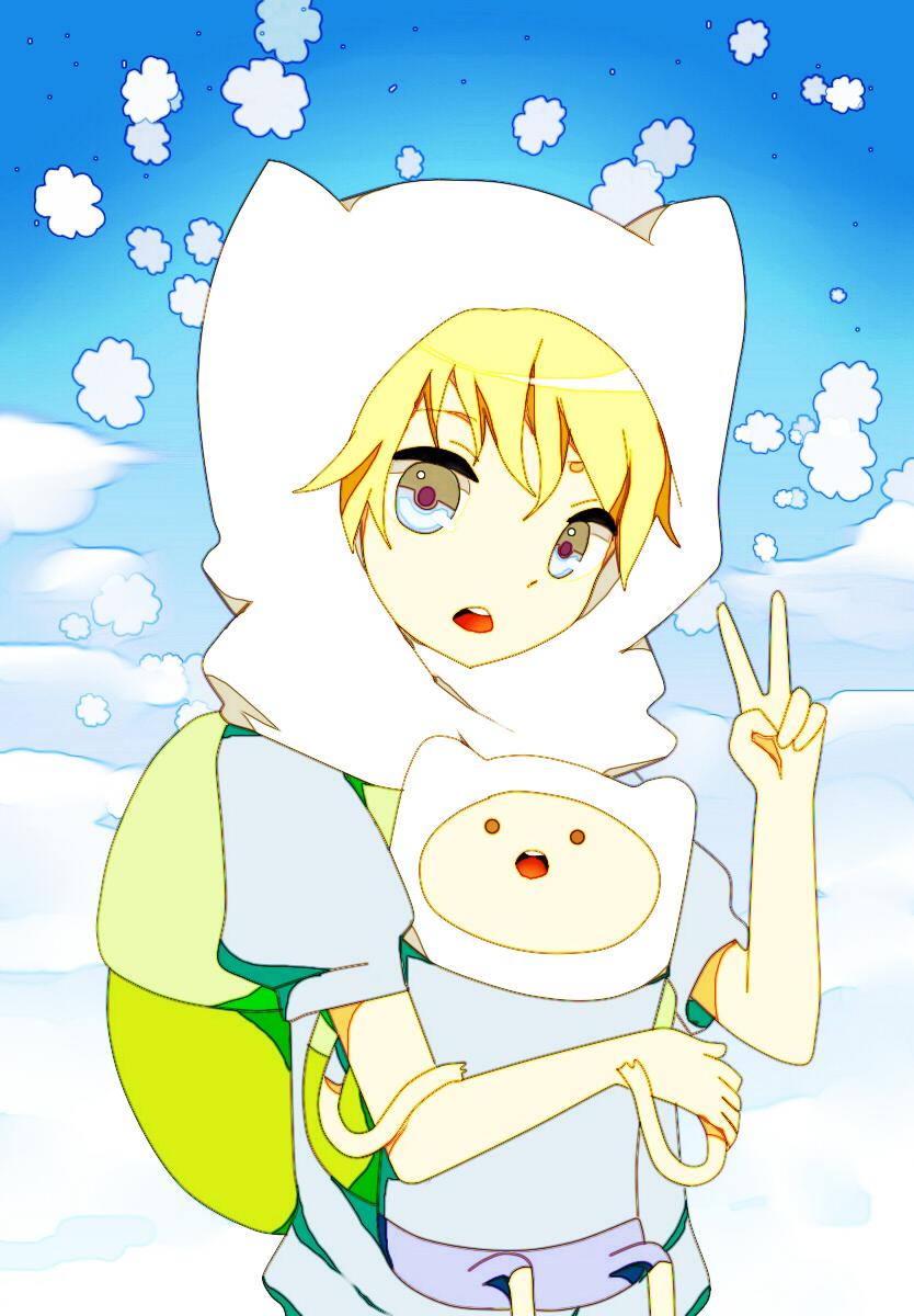 finn the human adventure time zerochan anime image board