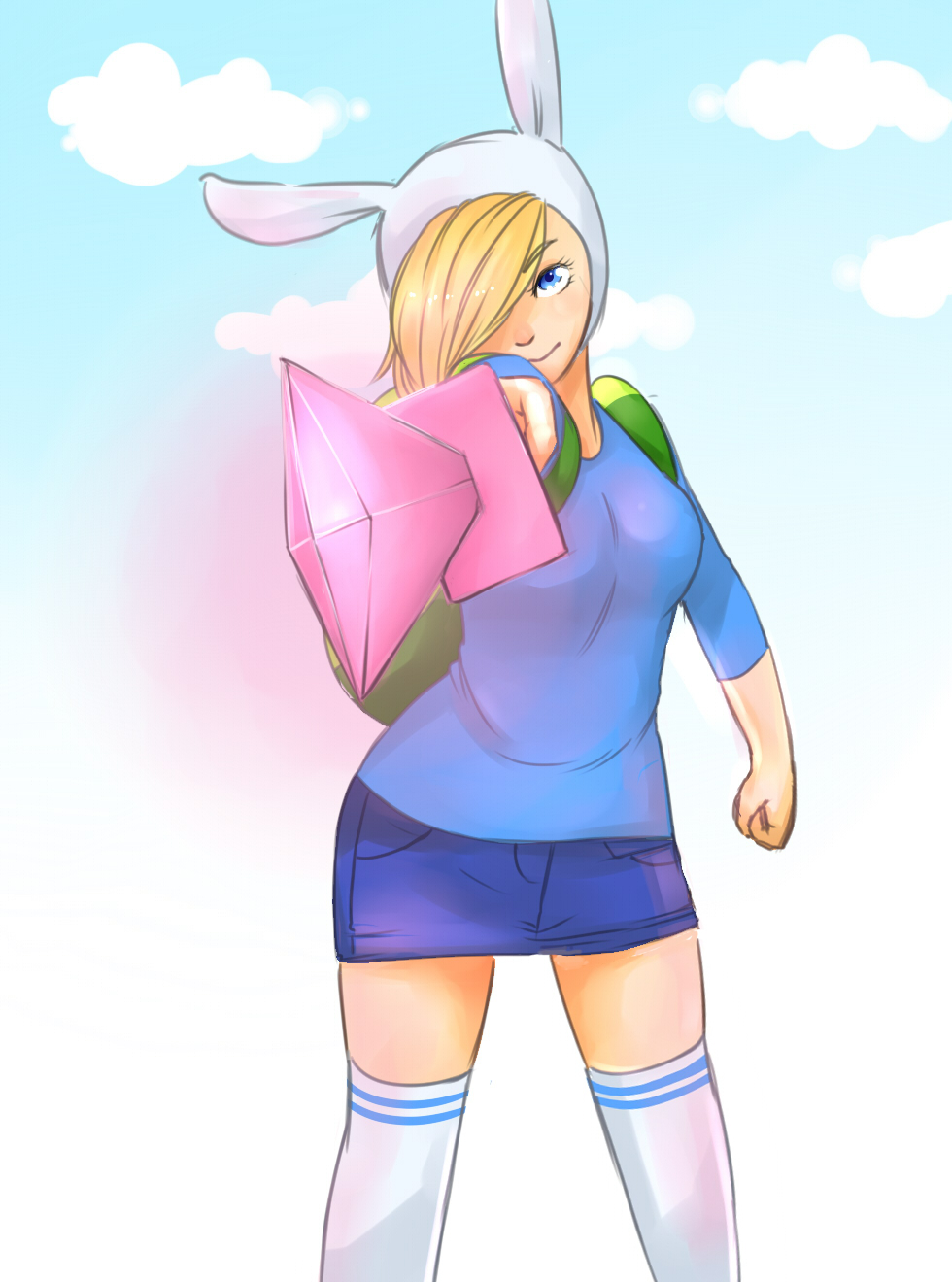 Adventure Time Finn And Fionna fionna the human girl - adventure time - image #1410598