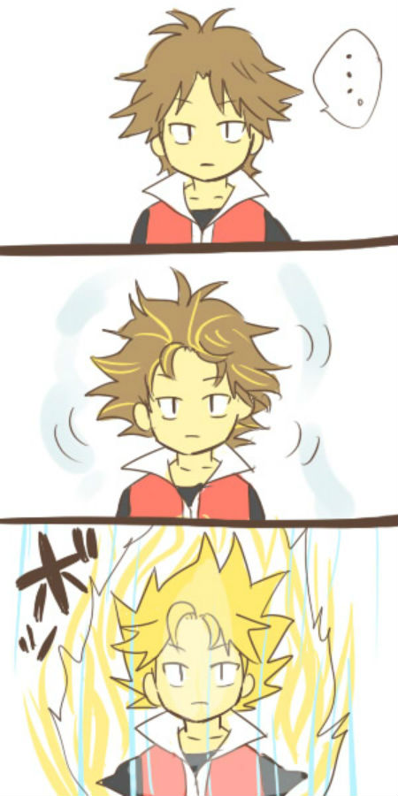 Tags: Anime, Pixiv Id 1349030, Pokémon, Fire (Pokémon), DRAGON BALL (Parody)
