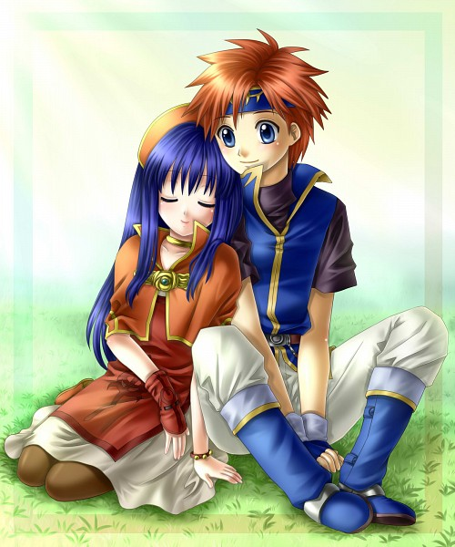 Tags: Anime, Roy (Fire Emblem), Lilina (Fire Emblem), Fire Emblem: Fuuin no Tsurugi, Yuino (Fancy Party)