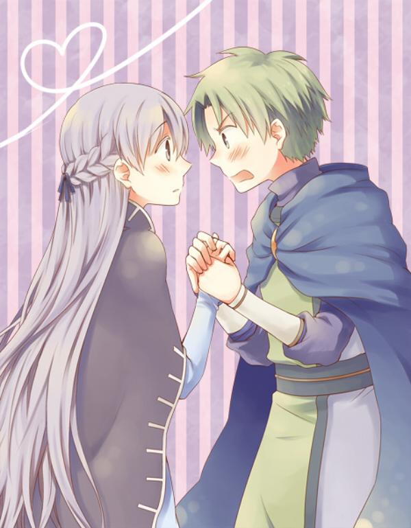 Tags: Anime, Pixiv Id 132264, Fire Emblem: Fuuin no Tsurugi, Sofiya, Lleu (Fire Emblem), Fanart, Fanart From Pixiv, Pixiv, Fire Emblem: Binding Blade