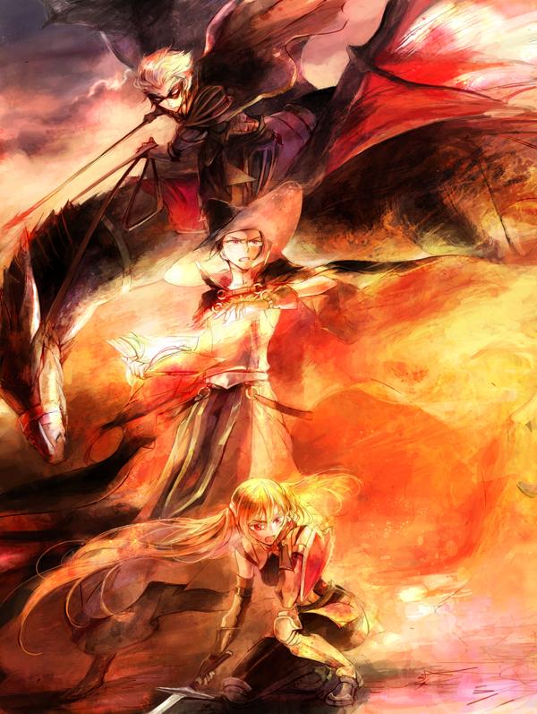 Tags: Anime, Kuzumosu, Fire Emblem: Kakusei, Selena (Fire Emblem), Laurent (Fire Emblem), Jerome (Fire Emblem), Fanart From Pixiv, Pixiv, Fanart, Fire Emblem: Awakening