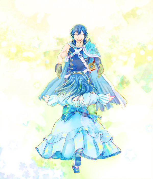 Tags: Anime, Pixiv Id 1252296, Fire Emblem: Kakusei, Lucina (Fire Emblem), Chrom (Fire Emblem), Fire Emblem: Awakening