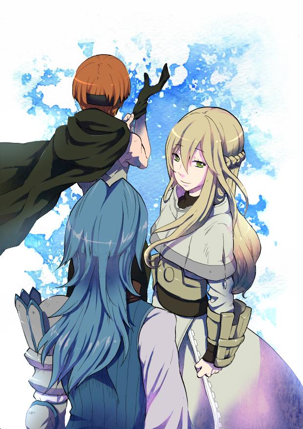 Tags: Anime, Pixiv Id 331777, Fire Emblem: Kakusei, Libera, Gaius (Fire Emblem), Viole (Fire Emblem), Fanart From Pixiv, Pixiv, Fanart, Mobile Wallpaper, Fire Emblem: Awakening