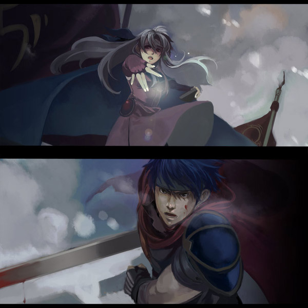 Tags: Anime, Fire Emblem: Path of Radiance, Ike, Micaiah, Artist Request