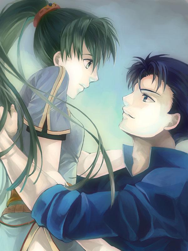 Tags: Anime, Kaito (Artist), Fire Emblem: Rekka no Ken, Hector (Fire Emblem), Lyn (Fire Emblem), Fanart From Pixiv, Pixiv, Wallpaper, Fanart, Fire Emblem: Blazing Sword