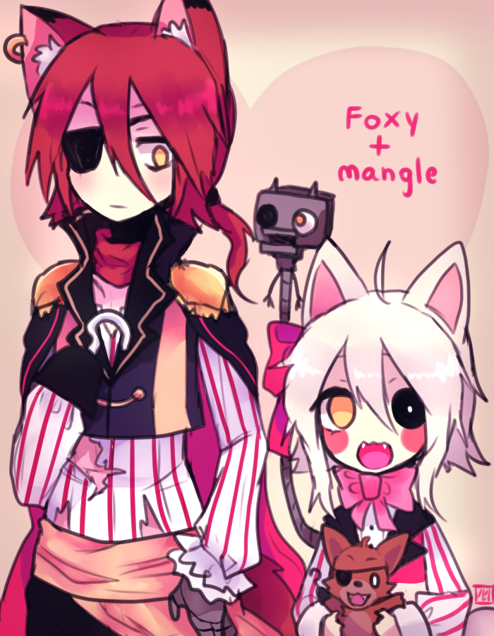 Tags Anime Luriette Five Nights At Freddys Mangle Foxy