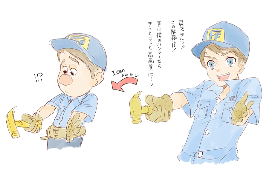 Fix It Felix Wreck It Ralph Zerochan Anime Image Board