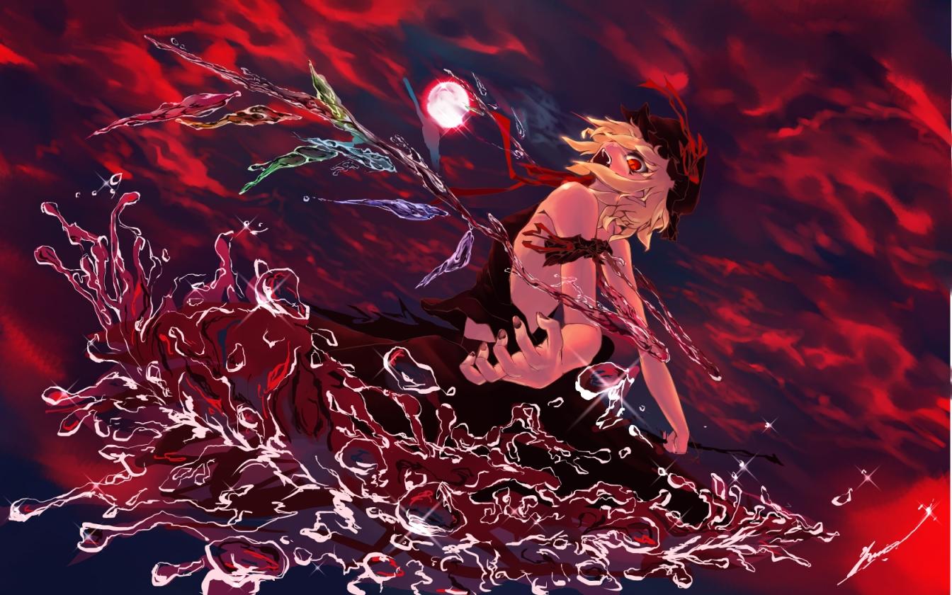 touhou flandre scarlet wallpaper - photo #21